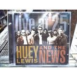 Huey Lewis And The News Live At 25 Cd Original Impecável