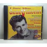 I Sure Miss Gene Vincent Tribute Cd Orig Imp Rockabilly