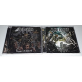 Iced Earth 2 Cds Dystopia plagues Of Babylon