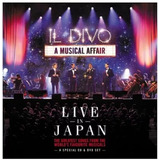 Il Divo   A Musical Affair Live In Japan   Cd