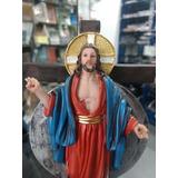 Imagem Jesus Das Santas Chagas Resina 20cm  Cd Brind