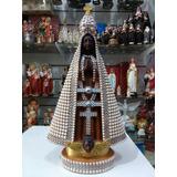 Imagem Nossa Senhora Aparecida 33cm Cd Brinde