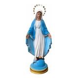 Imagem Nossa Senhora Das Graças C/ Auréola - 30cm