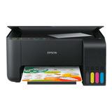 Impressora A Cor Multifuncional Epson Ecotank L3150 Com Wifi Preta 110v/220v
