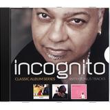 Incognito Classic Album Series With Bonus Tra Novo Lacr Orig
