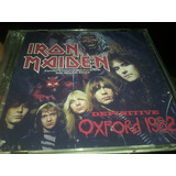 Iron Maiden Cd Duplo Definitive Oxford 1982 The Number Tour