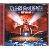 Iron Maiden Cd Duplo En Vivo Novo Original Lacrado