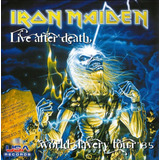 Iron Maiden Live After Death World Slavery Tour 85   Cd Rock
