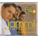 Jammil E Uma Noites Cd Single Chuva Na Janela   Raro