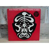 Jean Michael Jarre the Concerts In China duplo   1982 lp Vin