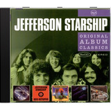 Jefferson Starship Original Album Classics Novo Lacr Orig