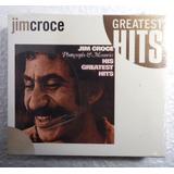 Jim Croce Cd Importado Novo His Greatest Hits 1985