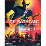 Joe Satriani Live In Anaheim Cd Light Orig Novo Lacrado