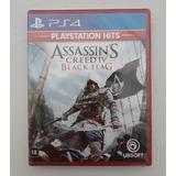 Jogo Assassins Creed Iv Black Flag Ps4 Dublado Português Cd