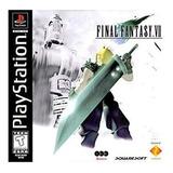 Jogo Final Fantasy 7 Completo 3 Cds Ps1