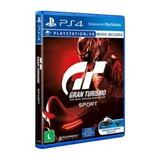 Jogo Gran Turismo Sport Ps4 Sony Cd Mídia Fisica Original Gt