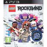 Jogo Lego Rock Band Playstation 3 Ps3 Mídia Física Game Cd