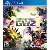Jogo Plants Vs Zombies Gw2 Ps4