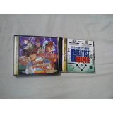 Jogo Sega Saturn Greatest Nine  Street Fighter 2  Jogo Sega