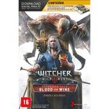 Jogo The Witcher 3 Wild Hunt Expansão Blood And Wine Pc