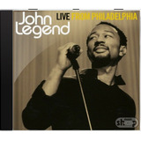 John Legend Live From Philadelphia   Novo Lacrado Original