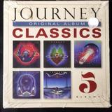 Journey   Original Album Classics 5cd Lacrado Importado