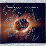 Journey Cd Eclipse Autografado 5 Integrantes 2011