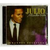 Julio Iglesias Minha Vida Cd Lacrado Vol 1 Original