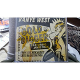 Kanye West featuring jamie Foxx gold Digger Cd Single