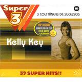 Kelly Key Super 3   Box Com 3 Cds   Raro