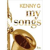 Kenny G My Songs Coletanea Com 3 Cds Lacrado Original