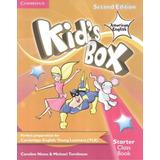 Kids Box American English Starter   Class Book With Cd rom
