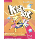 Kids Box Starter Class Book With Cd rom   British   2nd Ed