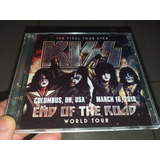 Kiss Cd Duplo  Columbus 2019 End Of The Road Tour