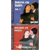 Kit 2 Cd Boleros Em Ingles   Tracy Chapman Enton John Outros