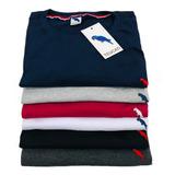 Kit 5 Camisetas Basica Masculina + 1 Camisa Brinde Total 6