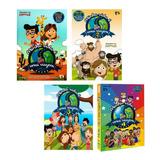 Kit Box Dvd E Cd Minha Vida É Uma Viagem Volumes 1 2 3 E 4