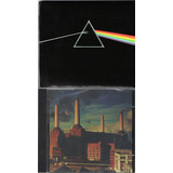 Kit C  2 Cds Pink Floyd   Animals  The Dark Side Of The Moon