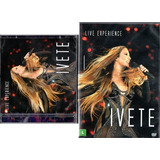 Kit Cd Duplo   Dvd Duplo Ivete Sangalo   Live Experience