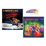 Kit Cd Zeca Baleiro   O Amor No Caos Vol 1 E  2