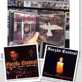 Kit Cds Faccao Central 2 Duplos 2 Simples Rap Nacional