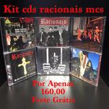 Kit Cds Racionais Mcs 6 Cds Original Lacrado Pronta Entrega