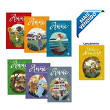 Kit Coleção 7 Livros Anne De Green Gables ( São 7 Livros )