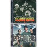 Kit Com 2 Cd s A ha Collection E Scorpions The Best Of