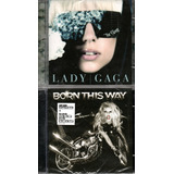 Kit Com 2 Cds Lady Gaga   The Fame E Born This Way Simpes