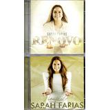 Kit Com 2 Cds Sarah Farias   Renovo E Novidade