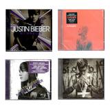 Kit Com 4 Cds Do Justin Bieber