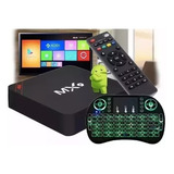 Kit Conversor De Box Tv 4k + Teclado Led Pronta Entrega