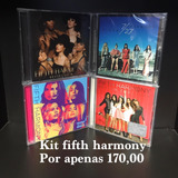Kit Fifth Harmony Better Together 7 27 Reflection 2017 4cds