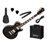 Kit Guitarra Les Paul Phx Lp-5 Studio + Amp - Nf E Gtia